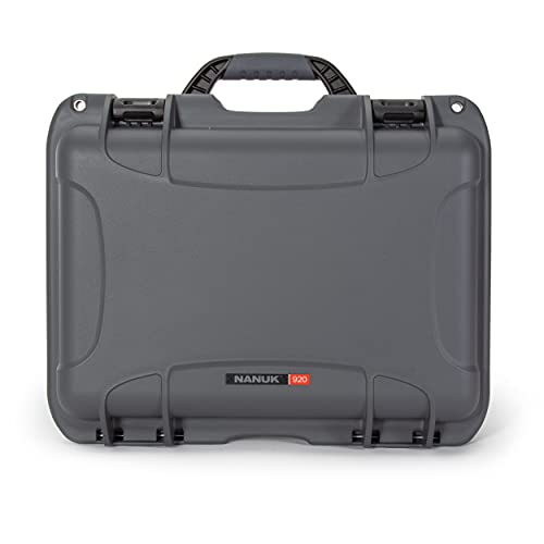 Nanuk 920 Waterproof Hard Case Empty - Graphite