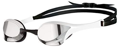 ARENA Unisex-Adult Cobra Ultra Swipe MR Schwimmbrillen, Silver-White, 1