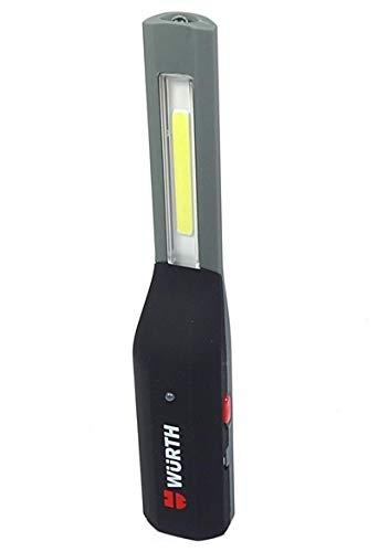 Würth 827940112 torcia led lampada portatile ricaricabile 100 lm [Classe di efficienza energetica A]
