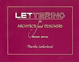 Lettering for Architects and Designers 2nd (second) edition