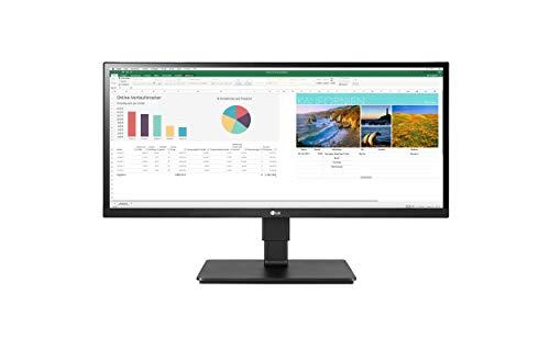 LG 29BN650-B - Monitor panoramico Corporativo (Panel IPS: 2560x1080p, 21:9, 250 CD/m², 1000:1, sRGB >99%, 75Hz, 5ms), diag. 73 cm, entradas: DP x1, HDMI x2; Altavoces 7W, HDR10