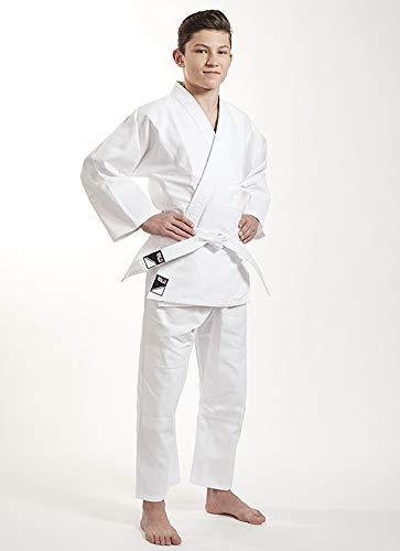 Ippon Gear Kinder Judoanzug Beginner, weiß, 130