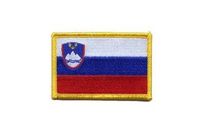 Aufnäher Patch Flagge Slowenien - 8 x 6 cm