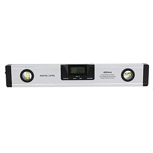 Cxjff Digitale Wasserwaage Lineal LCD Protractor Inclinometer 400mm Winkelsucher-Niveau-Werkzeug Mess