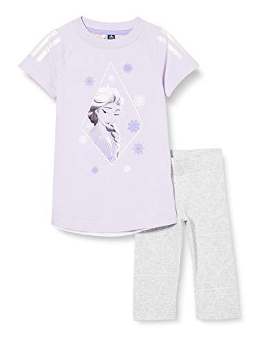 adidas LG DY Fro Sum Chándal, Unisex bebé, matpur/Blanco, 92 (1/2 años)