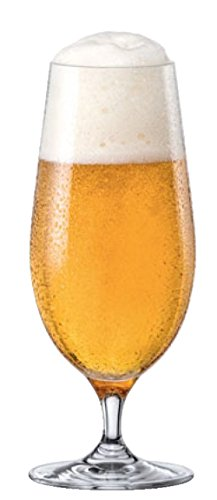 RONA City Stemmed All Purpose Water/Beer Pilsner Glass, 15 1/2 oz, Set of 6