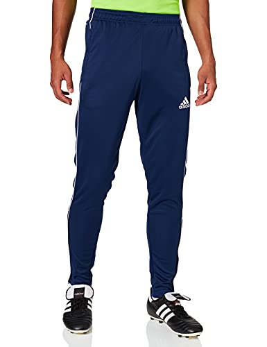 adidas Męskie spodnie sportowe Core18 Tr Pnt niebieski ciemnoniebieski/biały S