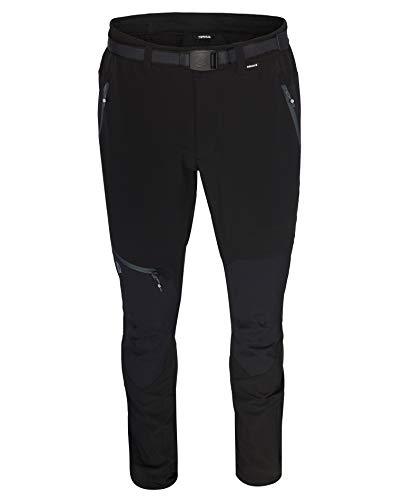 Ternua® Pantalon Peak, Homme M À Rayures/Bleu Marine foncé