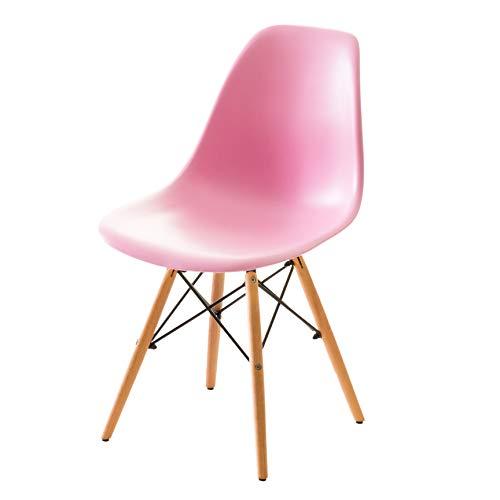 システムK イームズチェア DSW ダイニングチェア 椅子 ピンク 訳あり