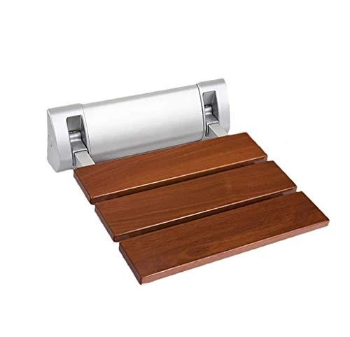 WYJW Showe Plianter Kruk Wandmontage douchekruk Opvouwbare houten klompen voor ouderen Kruk/Handicapped Antislip douchekruk
