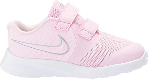 Nike Star Runner 2 (TDV), Zapatillas de Gimnasia Unisex bebé, Rosa (Pink Foam/Mtlc Silver/Volt 601), 26 EU