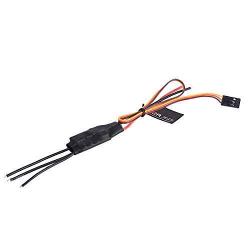 Salutuy Rc FPV Esc direzione di rotazione regolabile con funzione di allarme, per Emax Blheli Serie 12A 20A Esc Elettronica (12A)