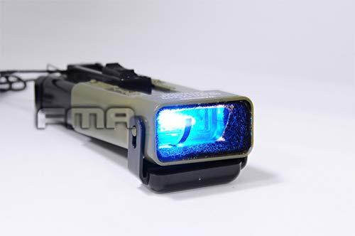 FMA Taktische Airsoft MS2000 Stroboskop-Helmlicht, Notmarkierung, funktionales Stroboskoplicht, Sicherheitslicht