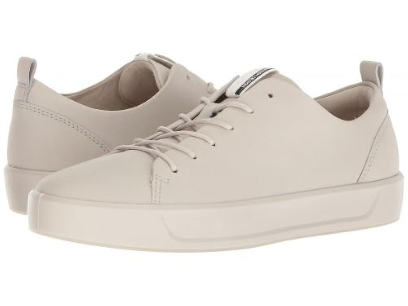 是正写真を描く悪性のECCO(エコー) レディース 女性用 シューズ 靴 スニーカー 運動靴 Soft 8 Sneaker - Gravel Steer Leather [並行輸入品]