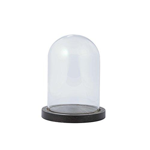 東京堂『ガラスドーム&ウッド M 花器(GG510209)』
