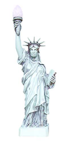 Freiheitsstatue Liberty 96cm Hoch!!! Fackel Freiheit USA New York Lampe Leuchte Standlampe Licht Hand bemalt