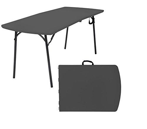 Cosco Diamond Series Banquet Folding Table, 6' X 30', Black