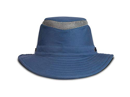 Tilley T5MO Medium Curved Brim Organic Cotton Airflo® Hut mittleres Blau 7 1/4