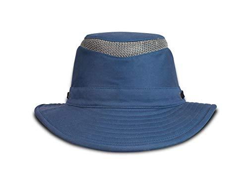 Tilley T5MO Medium Curved Brim Organic Cotton Airflo® Hut mittleres Blau 7 1/4