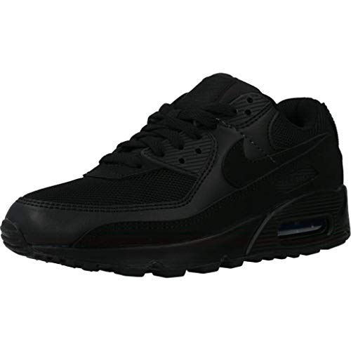 Nike Air Max 90 Women's Shoe, Scarpe da Corsa Donna, Black/Black-Black-White, 39 EU