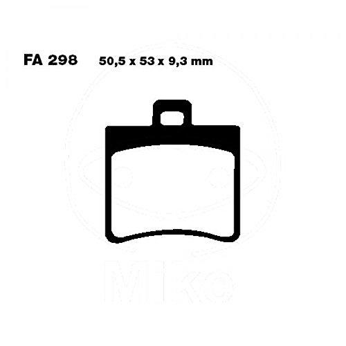 Bremsbelag hinten EBC Carbon Scooter für TGB Bellavita 125 EFI, Bj. 2014-2016
