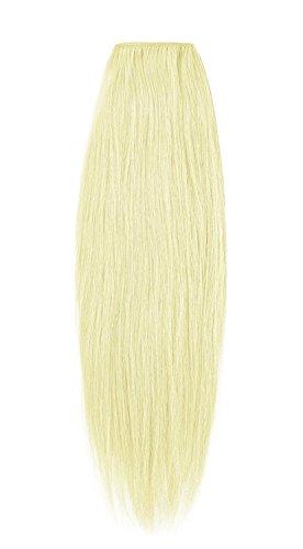 American Dream Remy 100% cheveux humains 35,6 cm soyeuse droite Trame Couleur 613 – Blond Crème