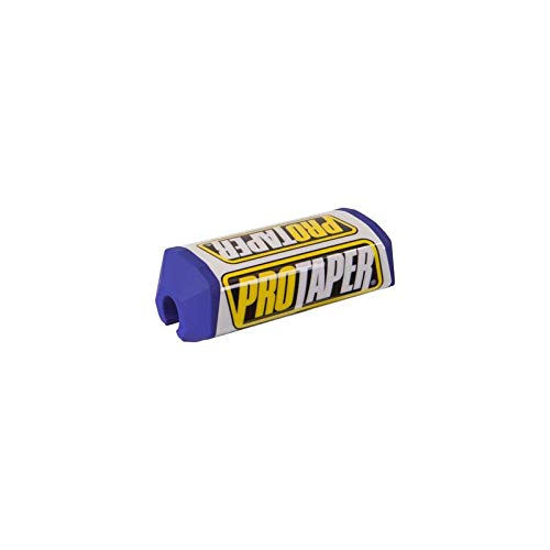 PRO TAPER - Mousse De Guidon Bleu/Blanc Pour Guidon Sans Barre 28Mm