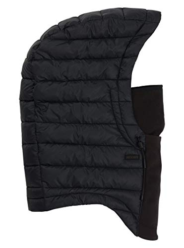 Burton Mens Insulated Hood, True Black, Over-Helmet