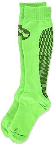 Medilast D322VN - Calcetines de Running Unisex, Color Verde neón, Talla S