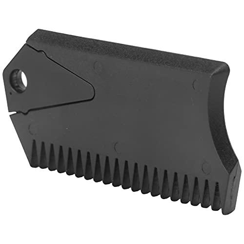 Shanrya Peine de Cera para Tabla de Surf, Peine de Cera para Tabla de Surf portátil, plástico, práctico y Resistente, 3.1 x 1.6 x 0.4 in para Quitar o aplicar Cera para Tablas de Surf