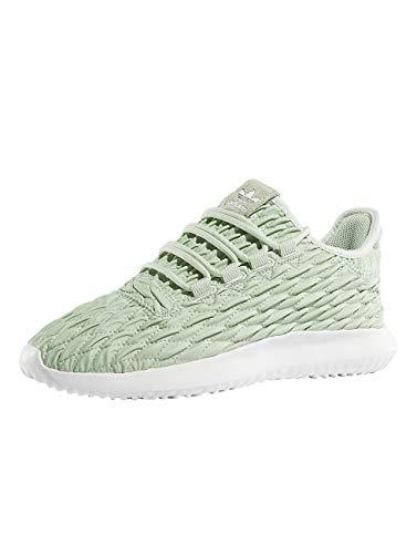 Adidas Tubular Shadow Damen Sneaker, Grün-Weiß,36 2/3 EU