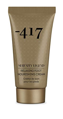 417 Nourishing Foot Cream - Anti Aging & Rejuvenating Cream with Shea Butter and Precious Mineral Complex - Perfect for Cracked Dry Skin Repair - All Natural actives 1.7 oz