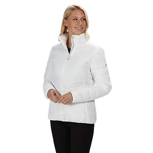 Regatta Damen Freezeway Damen Daunenjacke, weiß, 34 (Herstellergröße: 36)