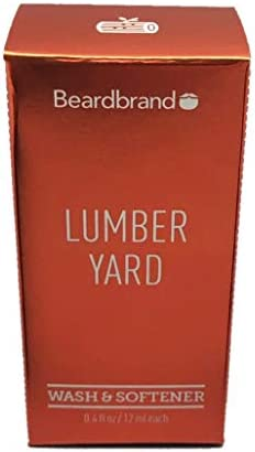 Beardbrand Lumber Yard Beard Wash and Softener 0 4oz product image