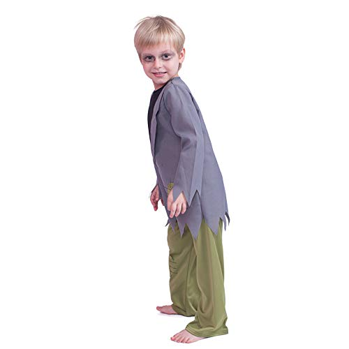 N / A Cosplay Halloween Novedad Regalo Disfraz para niños Disfraz Disfraz de Terror Disfraz de Zombie de Navidad Disfraz de Fantasma de Muerte Zombie Body Height:135-150cm