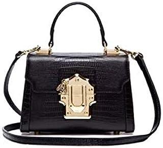 حقيبة يد بتصميم LAFESTIN / حقيبة كروس بودي سبليت من الجلد - حقيبة يد صغيرة مصمم حقيبة يد صغيرة