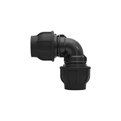 Angle with external thread PE Pipe Clamp Connector Clamp Fitting