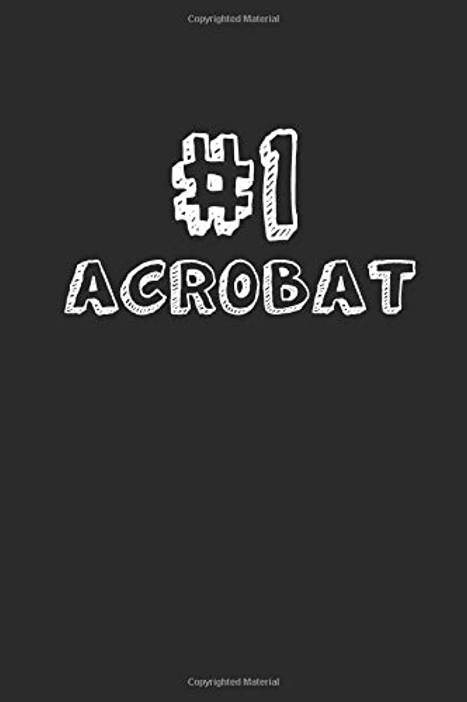 劣る事故下る#1 Acrobat: Blank Lined Composition Notebook Journals to Write In