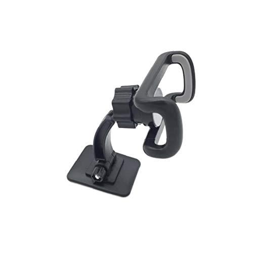 360 Coche De La Rotación De Teléfono Soporte Ajustable Soporte para Teléfono Universal del Montaje del Sostenedor del GPS con Adhesivo - Negro Gris Portátiles Accesorios Electrónicos