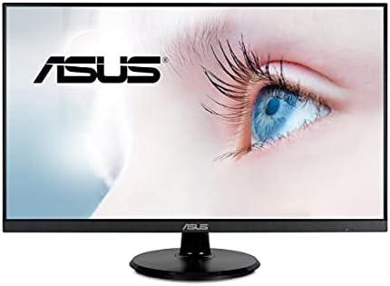 "ASUS 27"" 1080P Monitor (VA27DQ) – Full HD, IPS, 75Hz, Speakers, Adaptive-sync/FreeSync, Low Blue Light, Flicker Free, VESA Mountable, Frameless, HDMI, VGA, DisplayPort, Tilt Adjustable"