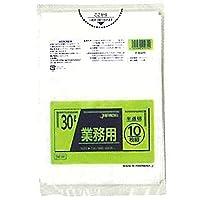 【お買得】ジャパックス 業務用ポリ袋 30L 半透明 0.025mm 800枚 10枚×80冊入 TM34