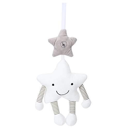 Juguetes de sonajero para Colgar, Juguetes de Cuna en Forma de Estrella para bebés para acompañar a su bebé