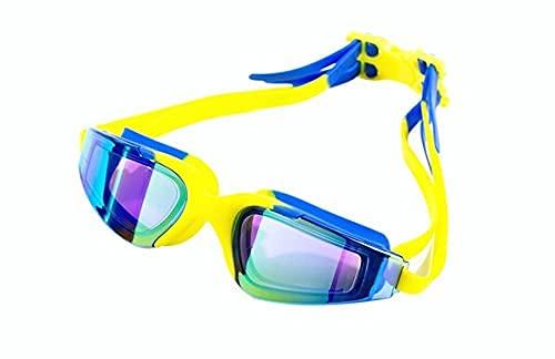 Peakfeng Gafas de natación para niños Gafas de natación Profesional Anti-Niebla UV Gafas de natación Multicolores para Hombres Mujeres. (Color : Sky Blue)