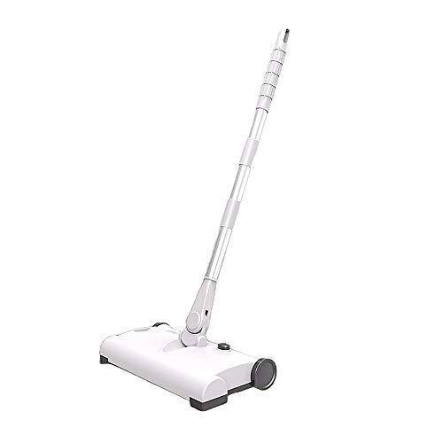 LAMCE Empuje barredora, aspiradora, Carga inalámbrica para electrodomésticos, Barrido y trapeador 2 en 1