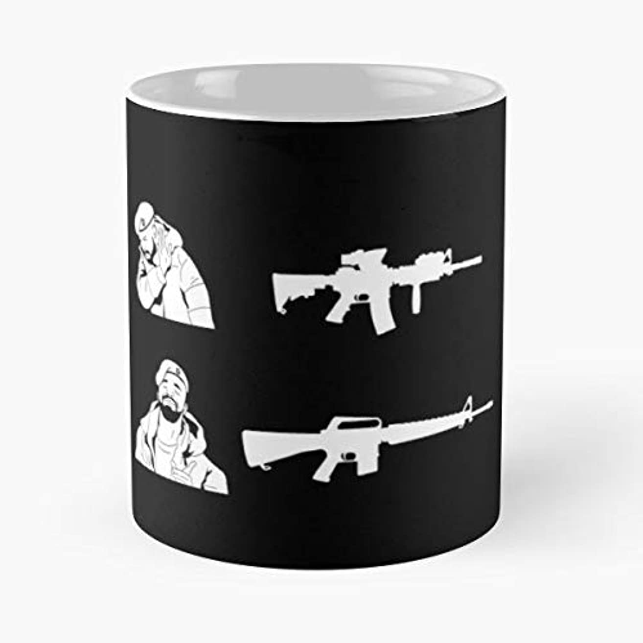 Fps First Person Shooter Air Soft Tactical Funny Floral Coffee Mugs Gifts