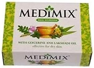 Medimix Transparent Ayurvedic Soap Glycerine And Lakshadi Oil for Dry Skin 75gm