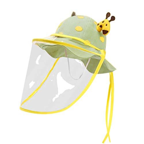 PRETYZOOM Sombrero de protección Facial para niños