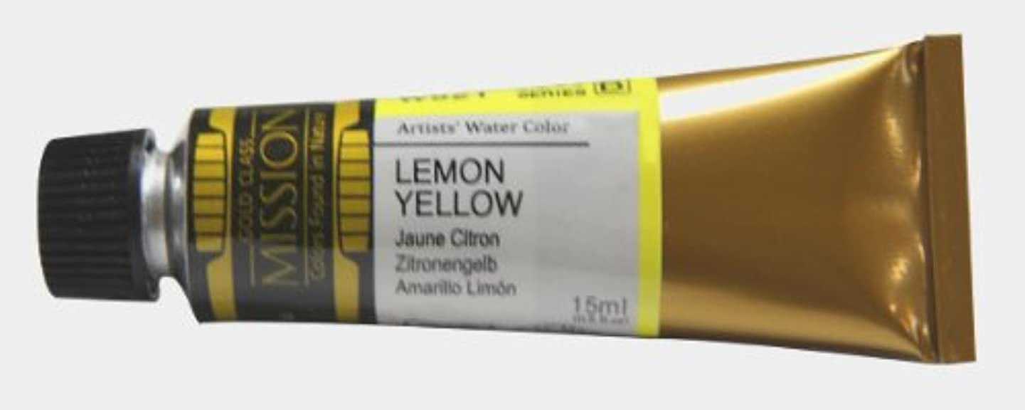 Mijello Mission Gold Class Water Color, 15ml, Lemon Yellow cnwadjgwnqhvsjee