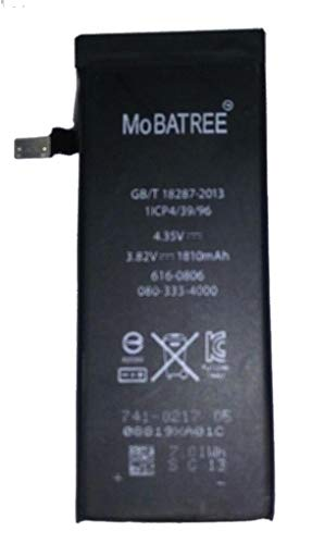Mobatree 1810 mAh Battery for I-Phone 6 Mobile Phone - Li-Polymer Capacity - Long Life & High Back Up (with 6 Months Warranty)