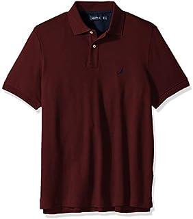 Nautica Men's Classic Fit Short Sleeve Solid Soft Cotton...